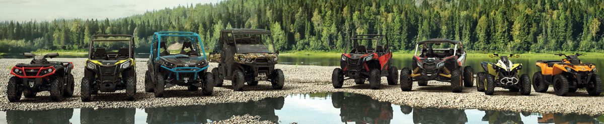 Can-Am OffRoad Line-Up 2019