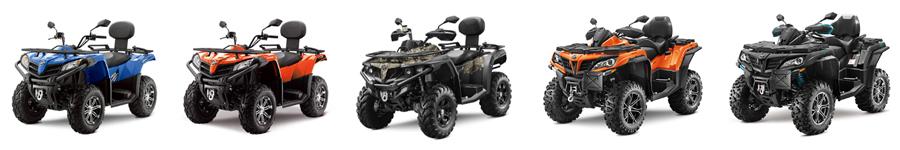 CF Moto ATV Lineup 2020