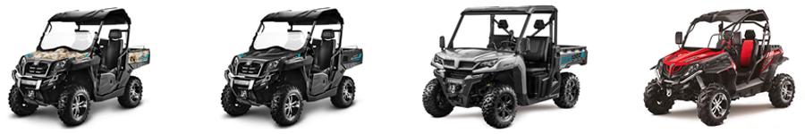 CF Moto SSV Lineup 2020